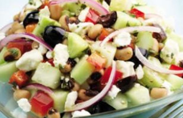 Cucumber-And-Black-Eyed-Pea-Salad