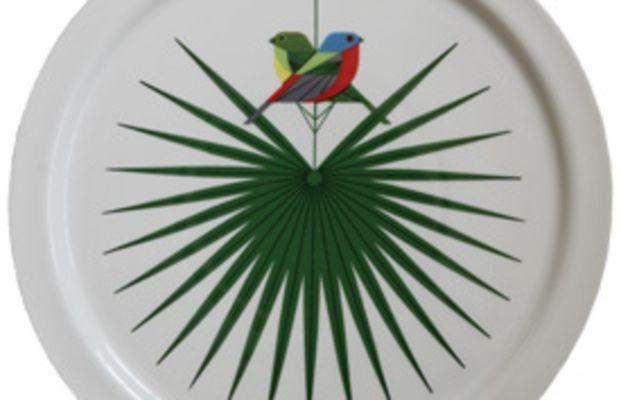 Oldham + Harper Flamboyant Feather Platter