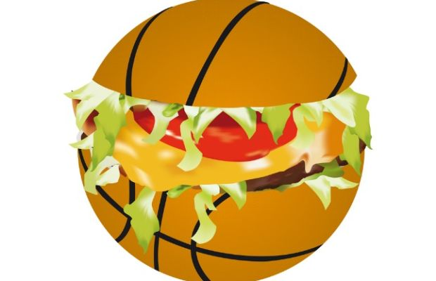 basketball sandwich