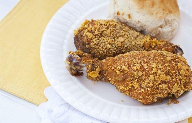 corn flake crumb chicken