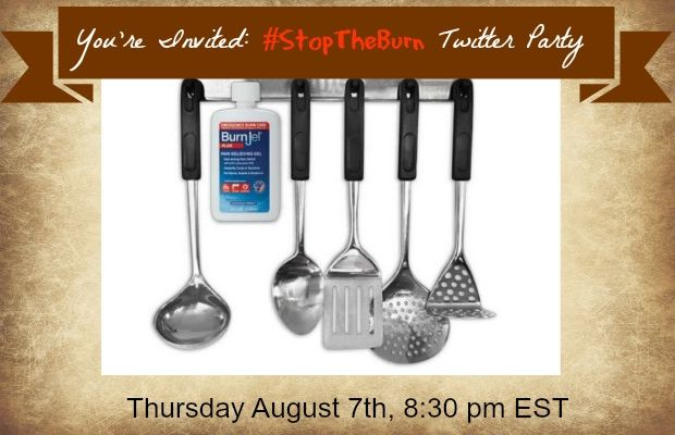 burn-jel twitter party