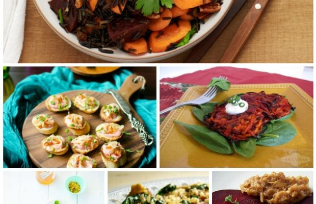 Beet Collage