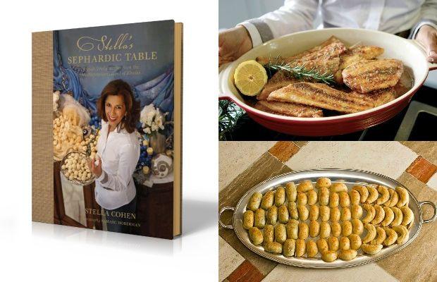 Stella's Sephardic Table Collage