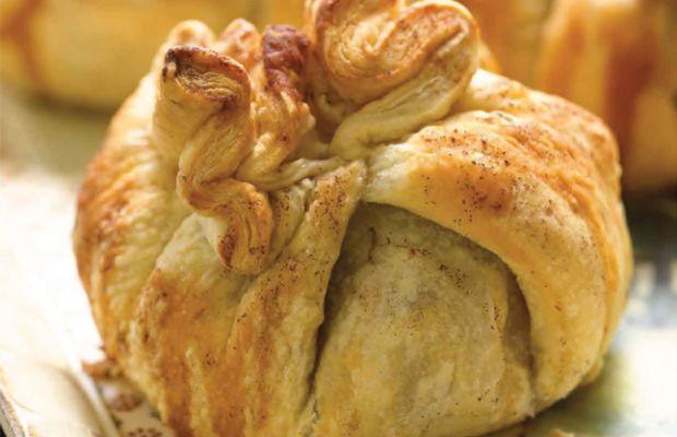 Puff Pastry Apple Purses