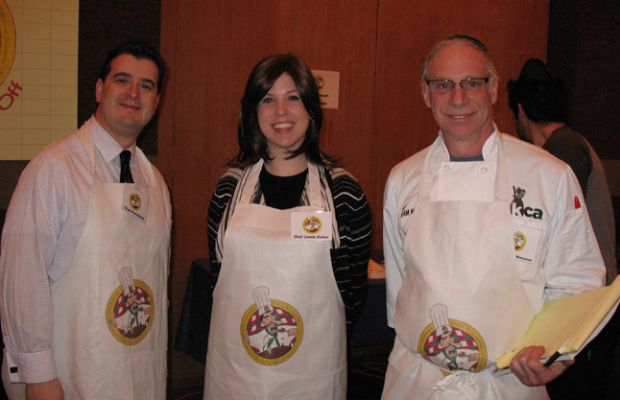 Elan Kornblum, Jamie Geller and Chef Avrum Wiseman