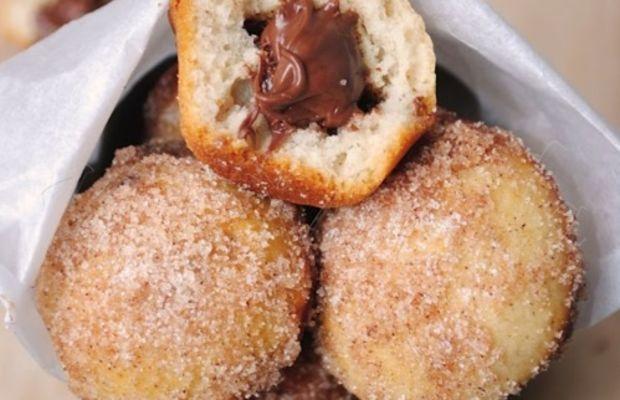 nutella donut