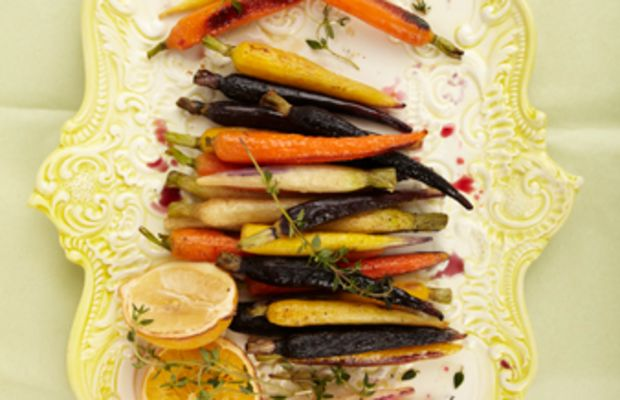 Citrus Glazed Roasted Carrots