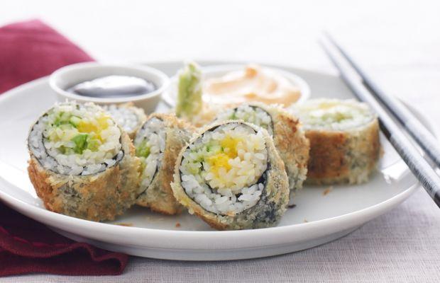 Tempura Sushi rolls