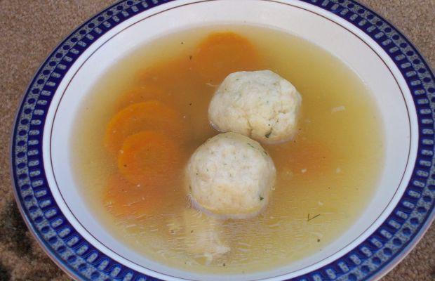 Herbed Matzo Ball Soup