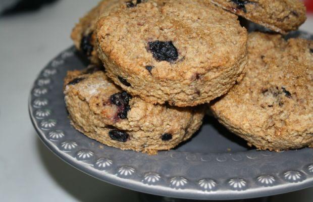 blueberry scones whole wheat