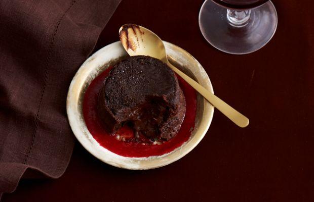 Passover Chocolate Lava Cake Dessert