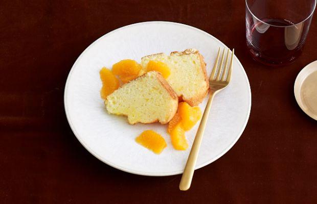orange lemon sponge cake for Passover