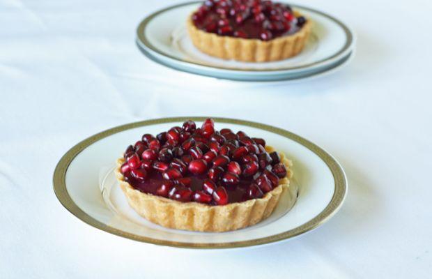 pomegranate tart