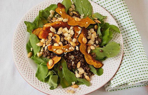 Acorn-Squash-Chips-and-Lentil-Salad