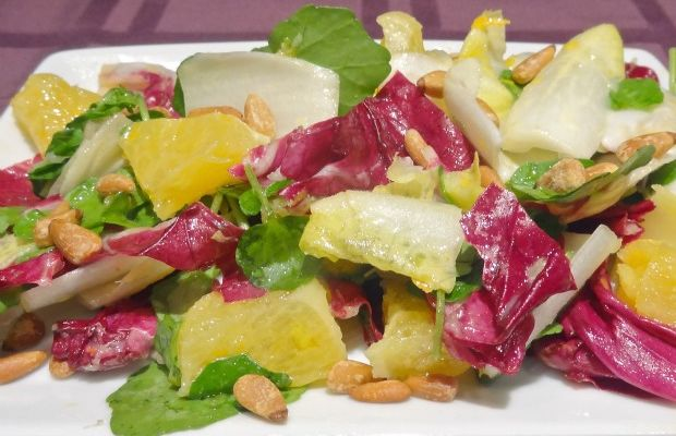 Sweet and Bitter Salad