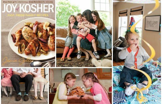 joy of kosher cookbook collage
