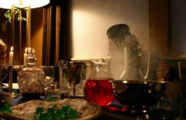 Seder Table,