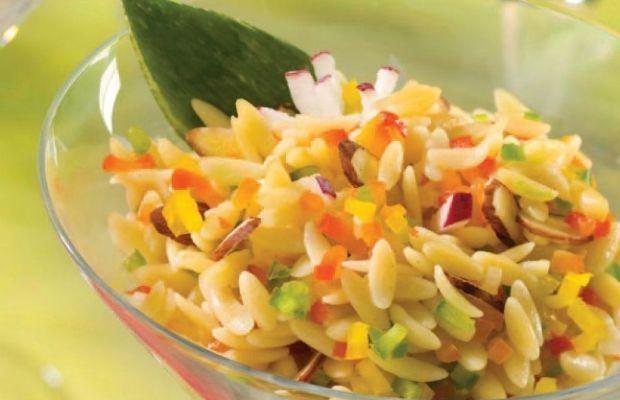 Rainbow Orzo Salad