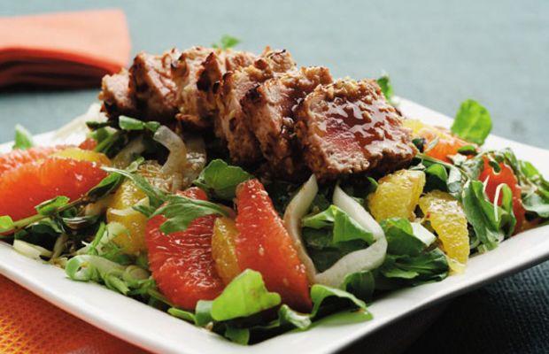 Citrus and Soy Tuna Salad