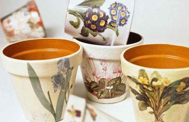 Crafts - Painted Flower Pots