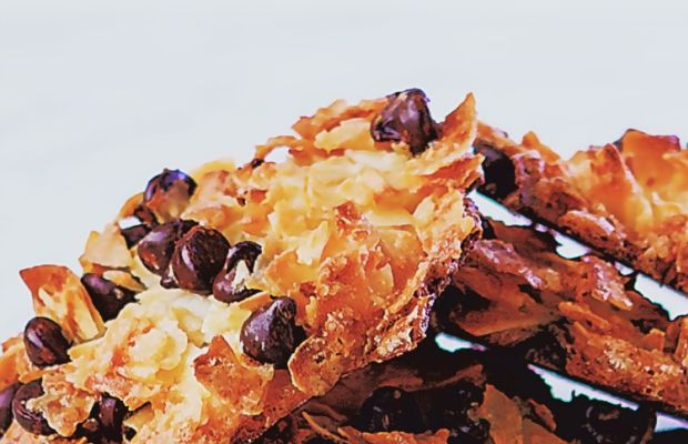 Gluten Free Coconut Chocolate Chip Macaroons