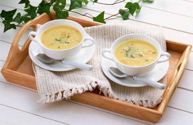 Souped Up Split Pea Soup