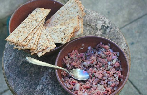 grow and behold beef tartar
