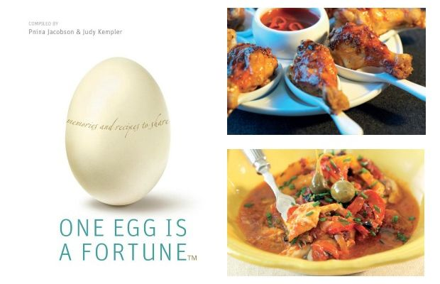 one egg collage
