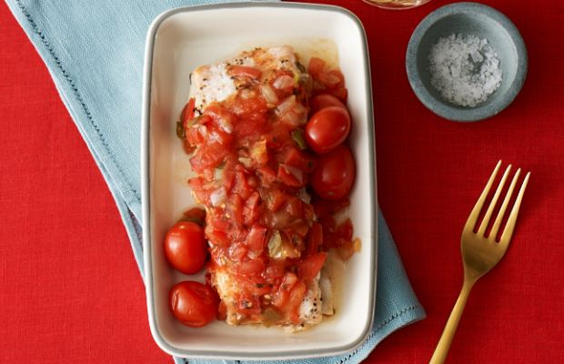 Salsa Baked Salmon