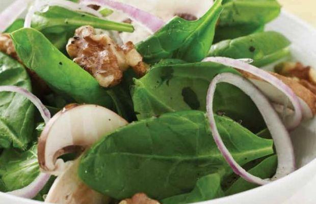 Spinach & Walnut Salad