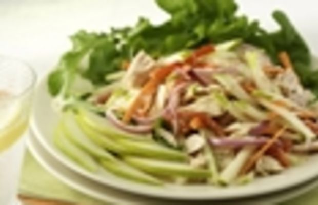 Mediterranean Tuna and Pear Salad