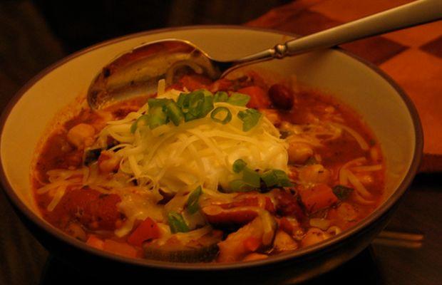 Chef David Vaughan's Veggie Chili