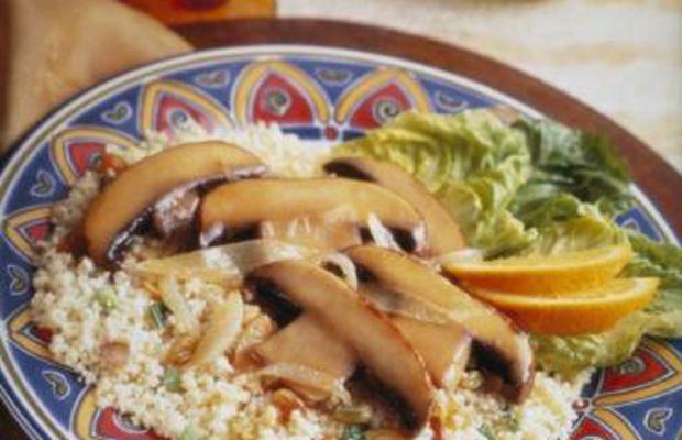 Spicy Portabella Couscous