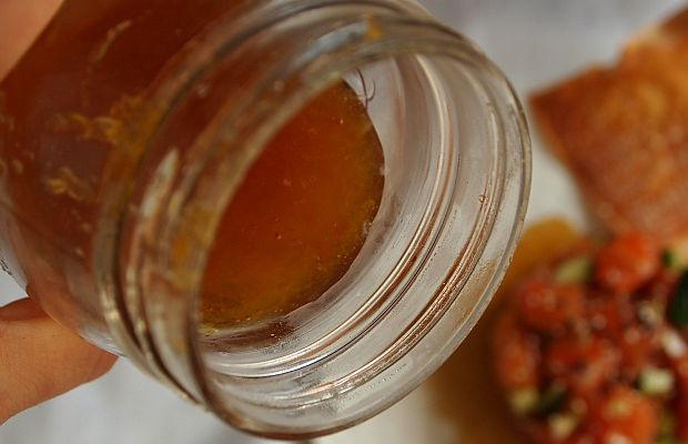 citrus ginger infused honey