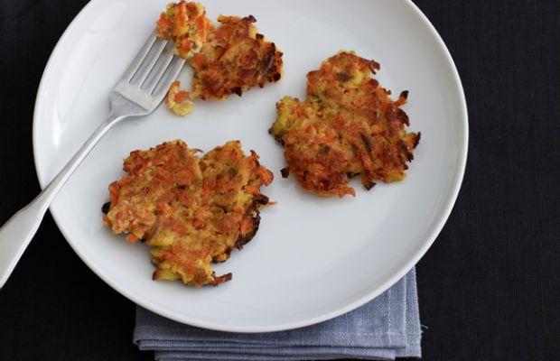 Carrot and Apple Latkes