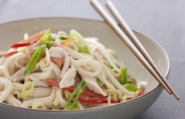 Chilled Chicken Noodle Salad