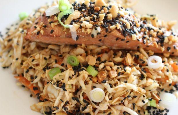 Sesame Soy Salmon