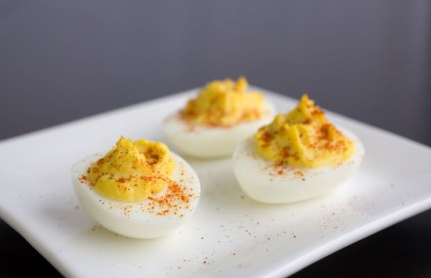 Derby Deviled Eggs