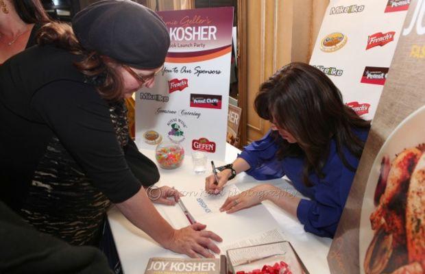 jamie signing books