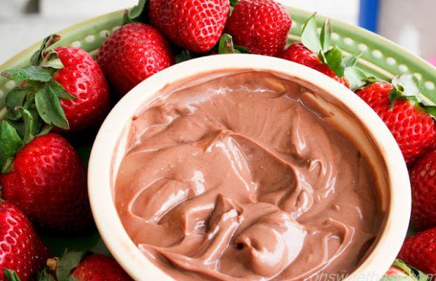 Healthy Chocolate Strawberries-2