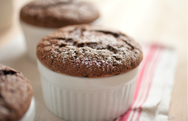 non dairy chocolate souffle