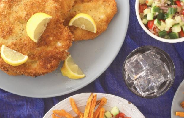 How To Eat Schnitzel Like an Israeli Shabbat Menu