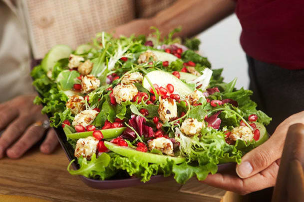 Mixed Green Salad with Warm Cream Cheese.jpg