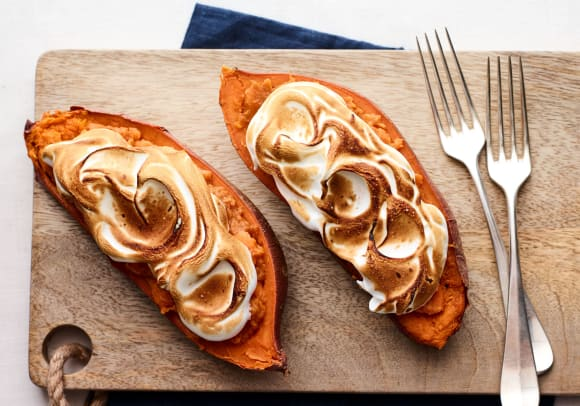 bruleed sweet potatoes with marshmallow topping.jpg