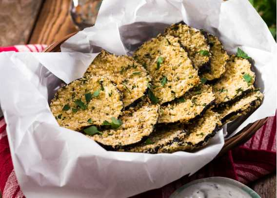 Baked Eggplant Chips with Tzaziki Dip.jpg