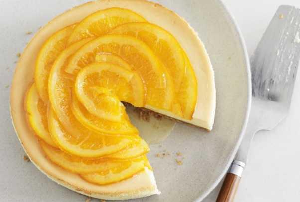 Candied Orange Cheesecake