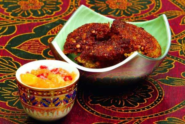 Indian Red Lentil Falafel