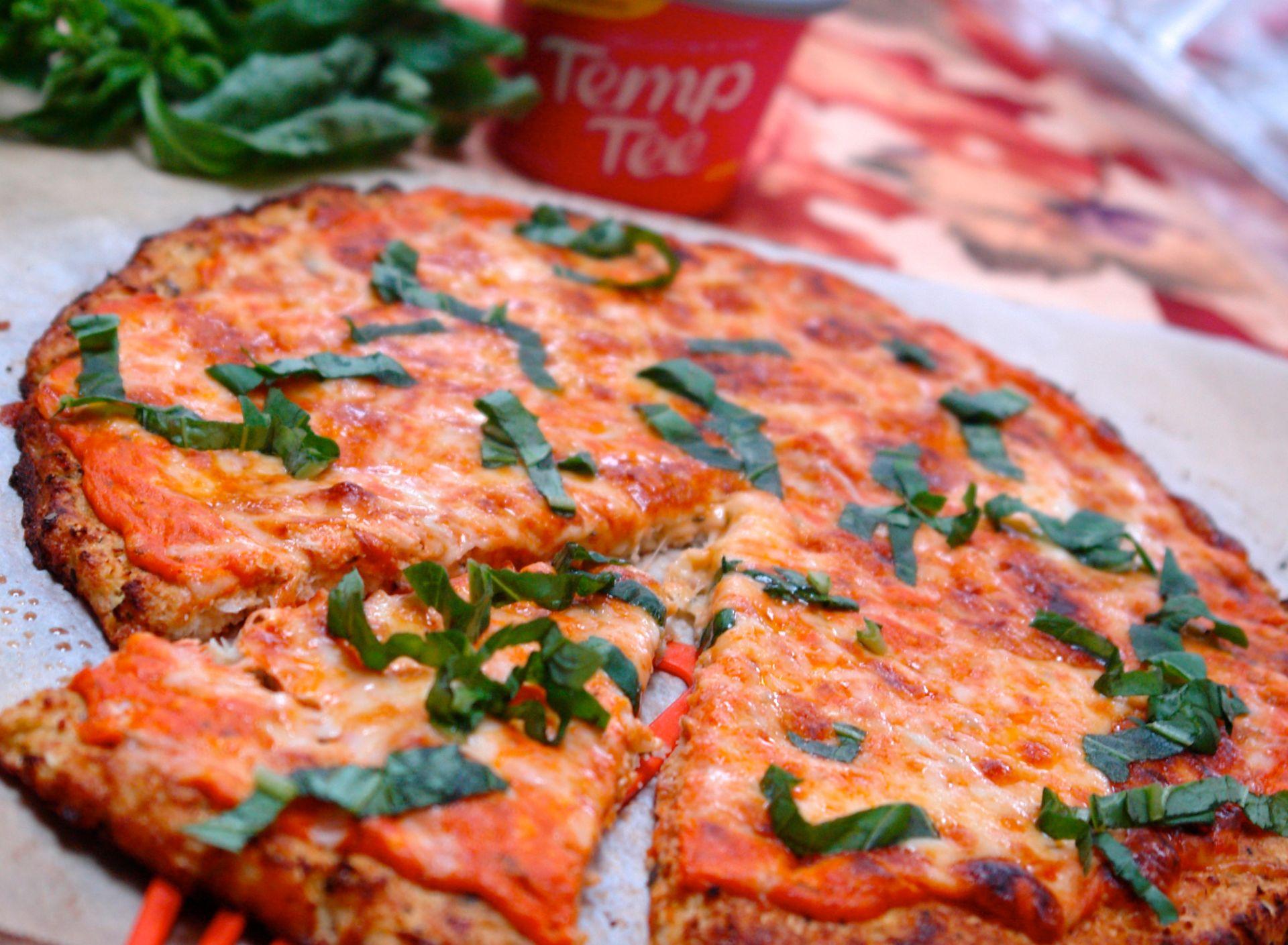 Cauliflower Pizza from Joy of Kosher