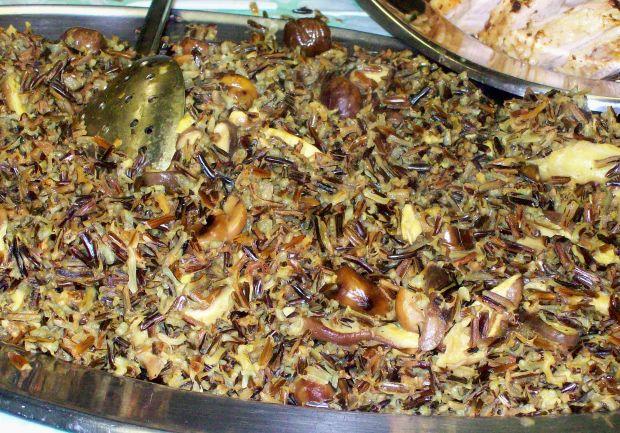 Wild Rice with Mushrooms and Chestnuts Recipe - Joy of Kosher