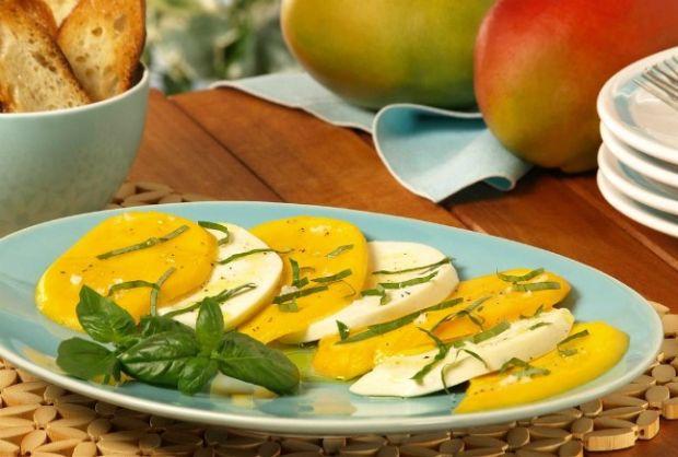 Mango Caprese Salad - Joy of Kosher